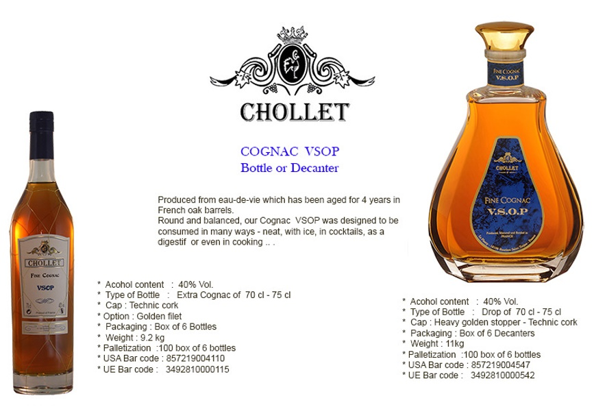 Cognac chollet glob all in one global ngu ltd for Cognac planat