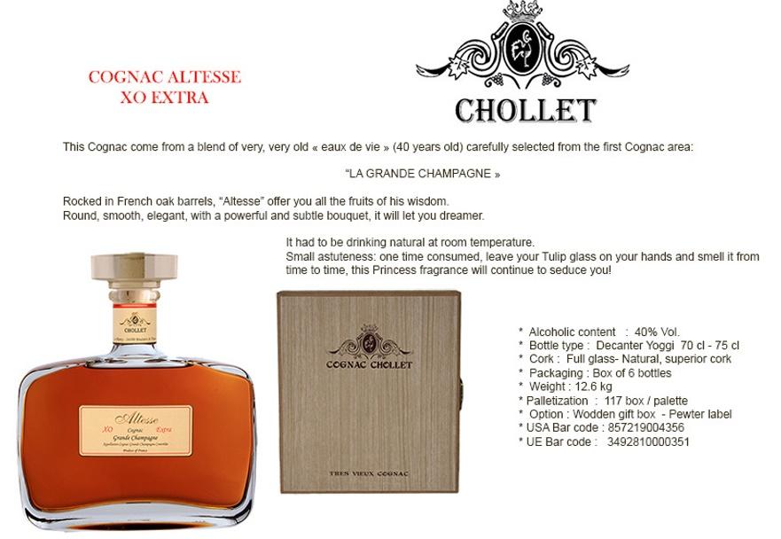 Cognac CHOLLET